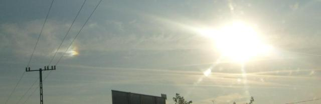 Érdekes égi fényjelenség  Üllő és Ócsa között