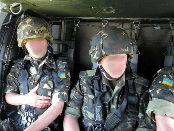 A jelenleg rendszeresített ukrán katonai egyenruha mintázat és szabás.
