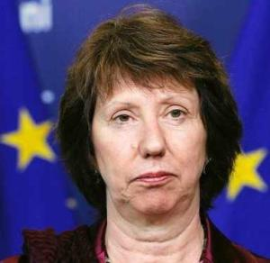 catherine Ashton az EU külügyi biztosa
