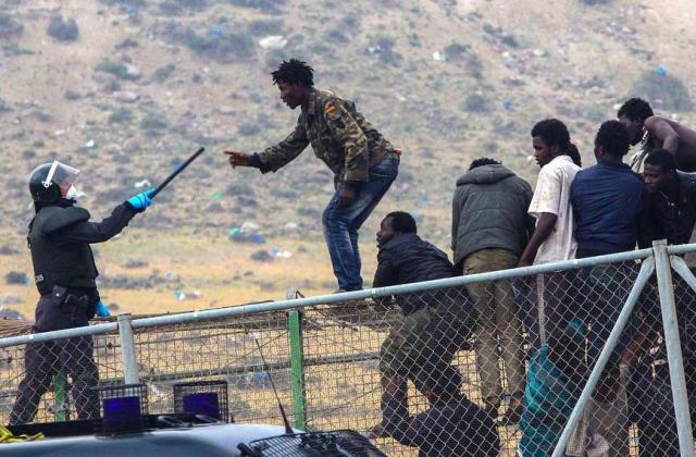 Illegális afrikai bevándorlók 1